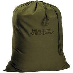 G.I. Type Canvas Barracks Olive Drab Bag