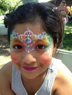 Awesome face painter: Marcela! Love her work.