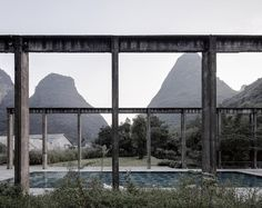 Alila Yangshuo Hotel, Yangshuo County, Guangxi, China, by Vector Architects Mini Clubman, Historical Architecture, Architecture Design, Guilin, Adaptive Reuse, Outdoor Pool, Hotels And Resorts, Light In The Dark, Places