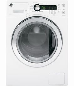 """GE 24"""" White Only Stacked Washer Front Load"""