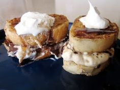 Stuffed French Toast (stuffed with a cream cheese filling! It's amazing!)