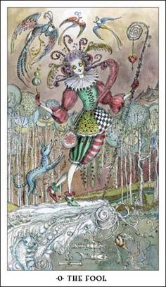 The Fool - Paulina Tarot by Paulina Cassidy -
