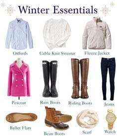 Preppy guide to winter dressing