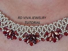 Tutorial Toronto Necklace by RDVIVAJEWELRY on Etsy, $9.00