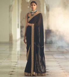 Saree and blouses Beautiful Hand Embroidered Sari .For This Sari Mail Us At contact Bui Sabyasachi Sarees, Indian Sarees, Anarkali, Sari Dress, The Dress, Indian Wedding Outfits, Indian Outfits, Mode Bollywood, Dress Wedding