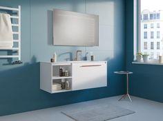 Lustro łazienkowe Illusion LED z oświetleniem LED/Mirror Illusion Led Mirror, Mirrors, Illusions, Bathroom Lighting, 3d, Furniture, Home Decor, Bathroom Light Fittings, Bathroom Vanity Lighting