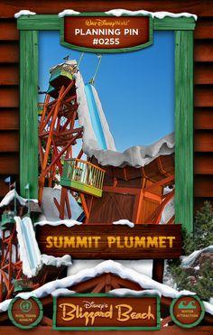Walt Disney World Planning Pins: Summit Plummet