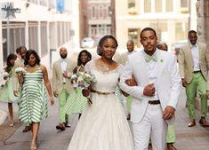 Real Weddings {Nashville}: Angel & Reginald! - Blackbride.com