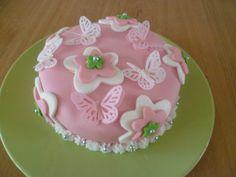 Allereerste zelfgemaakt taartje