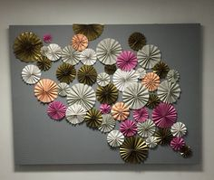 Pinwheel photo backdrop