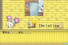 Harvest Moon - More Friends of Mineral Town - Your a cutie - User Screenshot