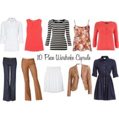 Weekly wardrobe planner: 7 days of French chic outfit ideas ...