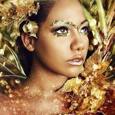 Gold lion by laura-ferreira on deviantart Creative Photography, Portrait Photography, Creative Shots, Dream Photography, Fashion Photography, Beauty Makeup, Hair Makeup, Beauty Spa, Eye Makeup