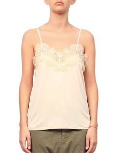 Mrs H - Ganni Montmarte Top Ivory Cream