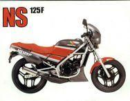NS 125 F - Honda - 1985