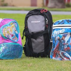 Ballistic Backpack - armored child's backpack, brought to you by Disney. NO.