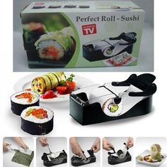 Easy Sushi Maker Roller equipment, perfect roll, Roll-Sushi tool machine  with color box ,1pcs/set.kitchen accessories