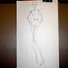 Fashionistas Daily .Com: Step by Step Fashion Illustration Tutorial With Famed Fashion Illustrator Alfredo Cabrera - How To Draw Beautiful Fashion Sketches