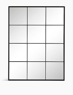 Buy the Simple Window Pane Mirror from Marks and Spencer's range. Window Pane Mirror, Mirror Wall Art, Mirrors, Energy Services, Elegant Sofa, Alcohol Gifts, Loft Furniture, Bed Lights, Sofa Shop