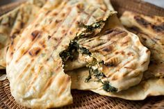 NYT Cooking: Greek Skillet Pies With Feta and Greens