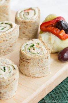 Mediterranean Chicken Pinwheels - all you need is a few ingredients including leftover rotisserie chicken to make this easy lunch or appetizer recipe. For a gluten free and low carb option it makes tasty lettuce wraps! Mediterranean Chicken, Mediterranean Recipes, All You Need Is, Chicken Pinwheels, Chicken Tostadas, Pinwheel Recipes, Pinwheel Appetizers, Party Appetizers, Leftover Rotisserie Chicken