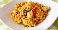 Fit  - Kurczak z ryżem i warzywami po chińsku  - 435 kcal