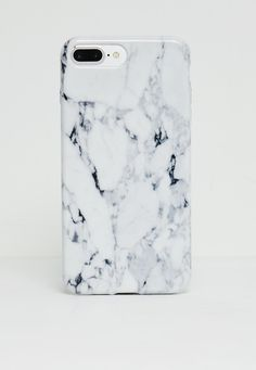 Missguided - White Marble I Phone 7  Phone Case