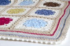 My Rose Valley: How to make the Maybelle Baby Blanket Border & Edging