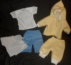 Preemie Clothes Made from Preemie Patterns