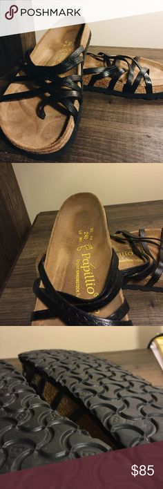 BIRKENSTOCK x PAPILLIO SALAMANCA // Birkenstock x Papillio Salamanca Sandals //   •Feel free to ask for any measurements •I LOVE offers! •More photos upon request •4.5/5 condition. No rips, stains, or imperfections. Only small amount of noticeable wear •Sorry, I DO NOT trade  !! SIZE 37 IN BIRKENSTOCK IS A 6-6.5 !! Birkenstock Shoes Sandals