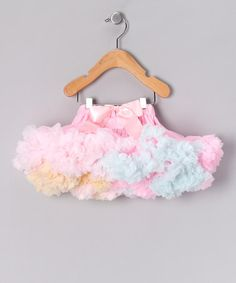 Take a look at this Pink Rainbow Pettiskirt - Infant by Oopsy Daisy Baby on #zulily today!