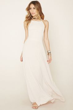Strappy Cami Maxi Dress   Forever 21 - 2000204946