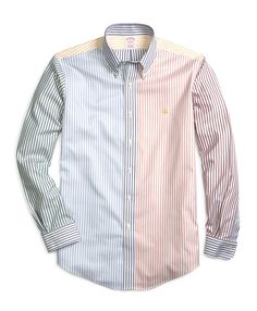 Pinstripe Fun Shirt from Brooks Brothers