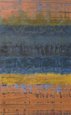 """della terra XIII, oil on panel, 32""""x 20"""""""
