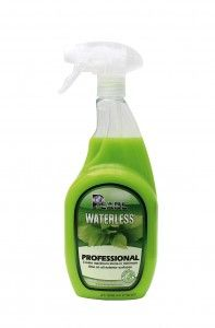 Professional Waterless Car Wash product in Bright GREEN. Works great!