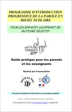 Programme d'introduction progressive de la parole en milieu scolaire (Kit Ecole) - Ouvrir La Voix Public Opinion, Middle, Program Management