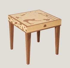 Everyman Works Katman Table. So cute for a kid's room! www.everymanworks.net