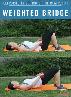 Weighted bridge start with 10-15 and build up to 20