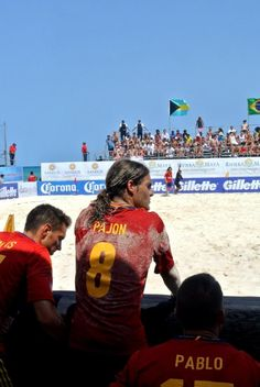 The Beach Soccer Worldwide Riviera Maya Cup on the beaches of Playa del Carmen  http://www.buyplayatoday.com/blogs/playalife/archive/2013/05/08/sun-sand-and-beers-at-worldwide-beach-soccer-cup-in-playa.aspx