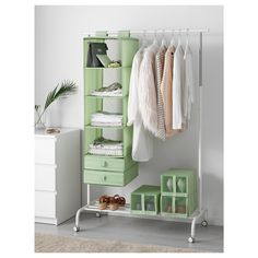Easy storage for small spaces: IKEA SKUBB Organizer.
