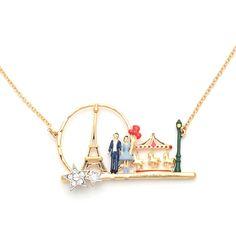 Les Nereides Merry-go-round in Paris necklace