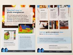 Zwanenburg Media | Flyer A4 gratis energiescan Lenderink Bouwadvies Zwolle