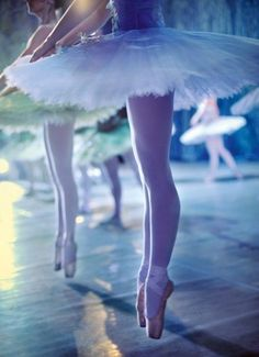 Ballerina on stage.