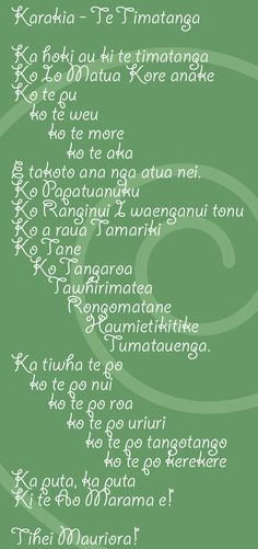 This month the kids have learned this new Karakia. They say it every morning at Kohanga Reo and Sabina can regularly be heard chanting it in the shower or while drawing on the magnadoodle. Hawaiian Tribal Tattoos, Samoan Tribal Tattoos, Maori Tattoos, Maori Songs, Song Words, Maori Art, Teaching Aids, Cross Tattoo For Men, Childhood Education