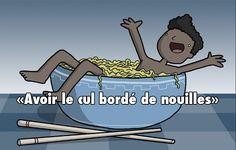 12 expressions françaises illustrées littéralement
