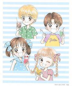 Los Animes de Kick: Marmalade Boy(manga).