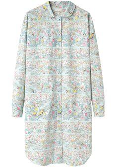 Cacharel / Floral Printed Shirtdress