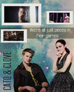 Cato and Clove<3 I mostly like them because their engadged