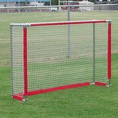 BSN Sports 4' x 6' Soccer/Hockey Goal Combo, Silver