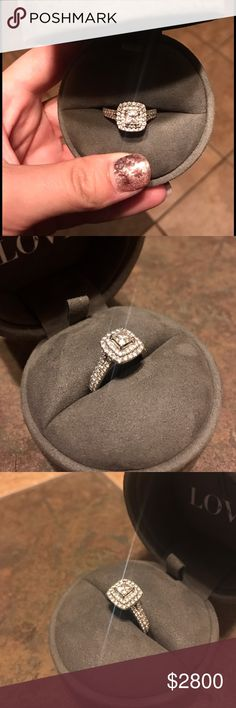 Vera wang love collection engagement ring Vintage inspired